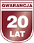 Gwarancja 20 lat